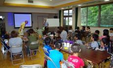 夏休み子ども科学教室・①